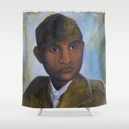 Ira Hayes Shower Curtain