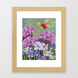Fanciful Garden Framed Art Print
