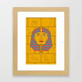 Egyptian Prince Framed Art Print