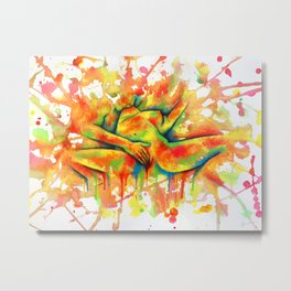 Colorful Climax Metal Print