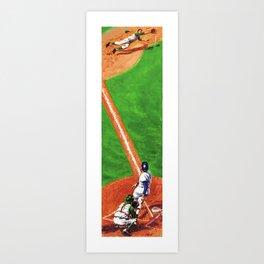 Line Drive Art Print