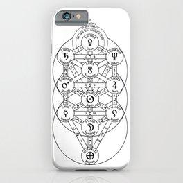 Kabbalah Tree Of Life iPhone Case