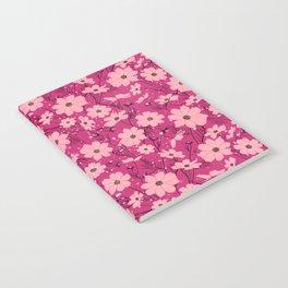 Cosmea pink Notebook