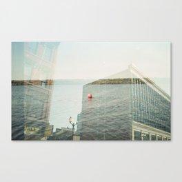 Lake Lister Block Canvas Print