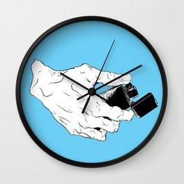 Lighter Wall Clock