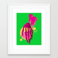 bones Framed Art Prints featuring Bones by Love2Laugh