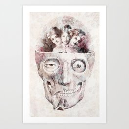 Oddities Art Print