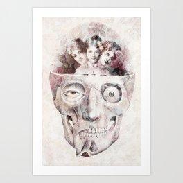 Oddities Art Print