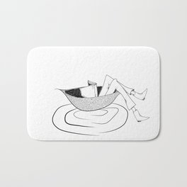 the flow of the reading! Bath Mat