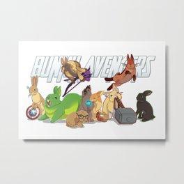 bunny 'vengers Metal Print