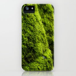 Mossy Mood iPhone Case