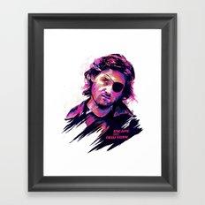 Kurt Russell: BAD ACTORS Framed Art Print