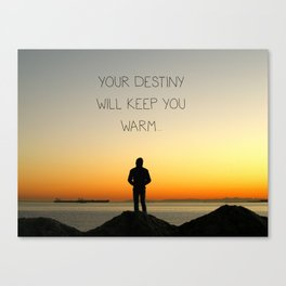 Try Not to Worry... Canvas Print