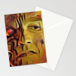 Terminator Artistic Illustration Molten Metal Style Stationery Cards