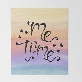 Me Time Throw Blanket