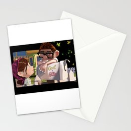 UP Carl and Ellie Stationery Cards