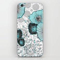 MYSTIC GARDEN MINT iPhone & iPod Skin
