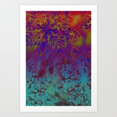 Heaven and Hell Art Print
