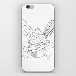 Bake & Destroy iPhone Skin