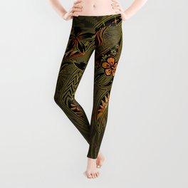 Samoan Malu Mana Motif - Polynesian designs Leggings