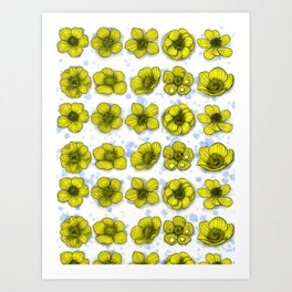 What's Up Buttercup Art Print