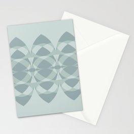 Surfboards in Mint Stationery Cards