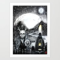 Hearg Weard (Altar-keeper) Art Print