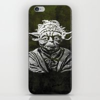 yoda iPhone & iPod Skins featuring Yoda by Some_Designs