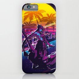 Kayn league of legends game 80s palm vintage iPhone Case