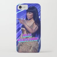 minaj iPhone & iPod Cases featuring MILEY WHAT'S GOOD? by Nicki Minaj Spain