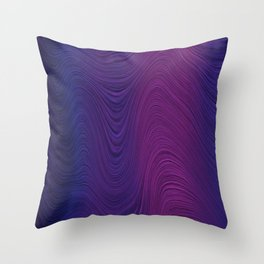 Purple daze 24 Throw Pillow