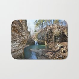 Alone in Secret Hollow with the Caves, Cascades, and Critters - Approaching the Falls Bath Mat