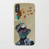 submarine iPhone & iPod Cases featuring SUBMARINE by Momenti Riciclati