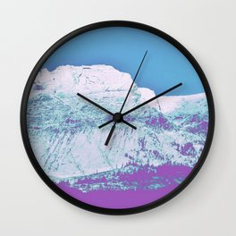 Mountain unexplained Wall Clock