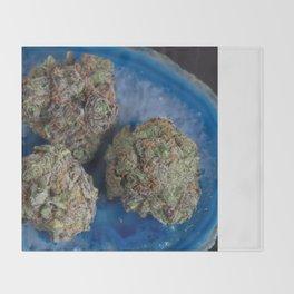 Grape Ape Medicinal Medical Marijuana Throw Blanket