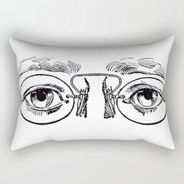 Glasses 3 Rectangular Pillow