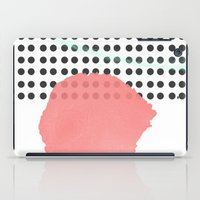 polka dot iPad Cases featuring polka dot by Ceren Aksu Dikenci