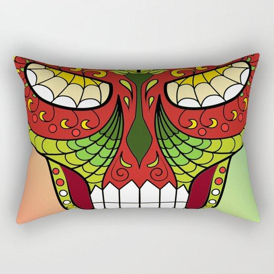 Sugar Skull #12 Rectangular Pillow
