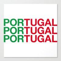 portugal Canvas Prints featuring PORTUGAL by eyesblau