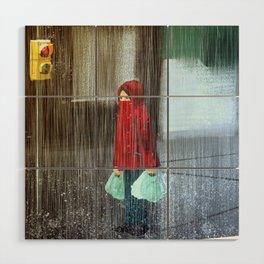 Rain Wood Wall Art