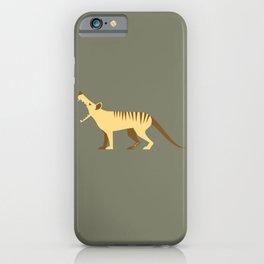 EXTINCT: Thylacine (Tasmanian Tiger) iPhone Case