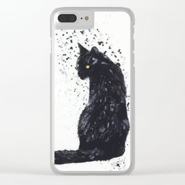 Saved from the Streets Clear iPhone Case