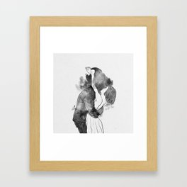 Introduce me to your universe. Framed Art Print