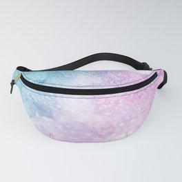Pink & Blue Glitter Fanny Pack