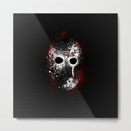 Happy Friday the 13th Metal Print