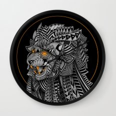 Barbarian Lion Wall Clock