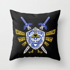 Heroes Legend - Zelda Throw Pillow