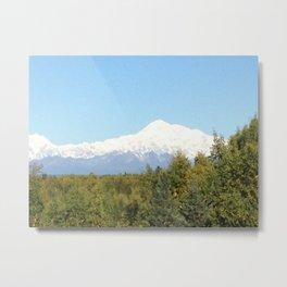 Mt. McKinley, Alaska Metal Print