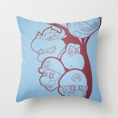 It'sa Me! Throw Pillow