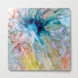 Explosion and Change Metal Print